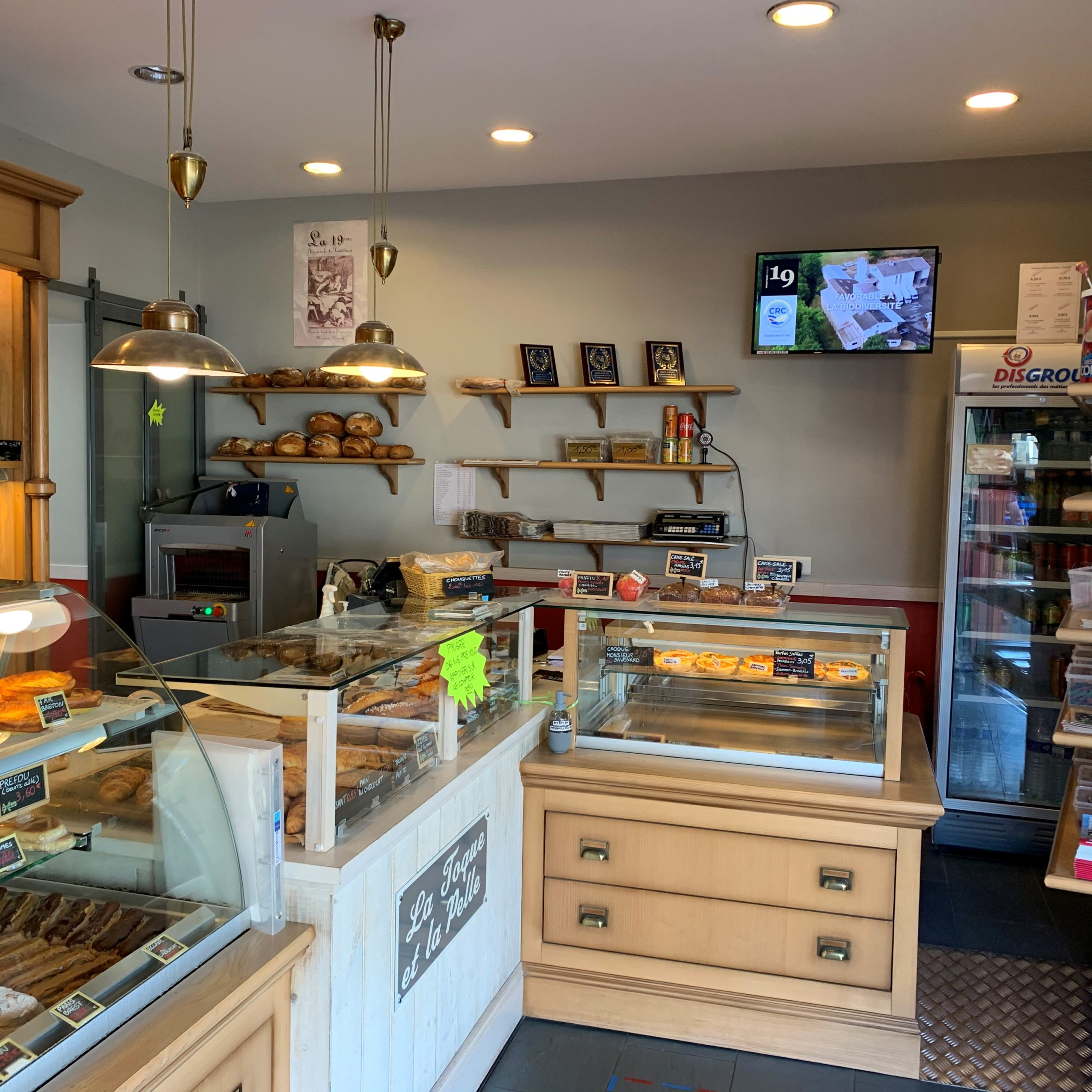 Boulangerie La Toque et la Pelle
