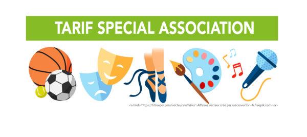 TARIF SPECIAL ASSOCIATION