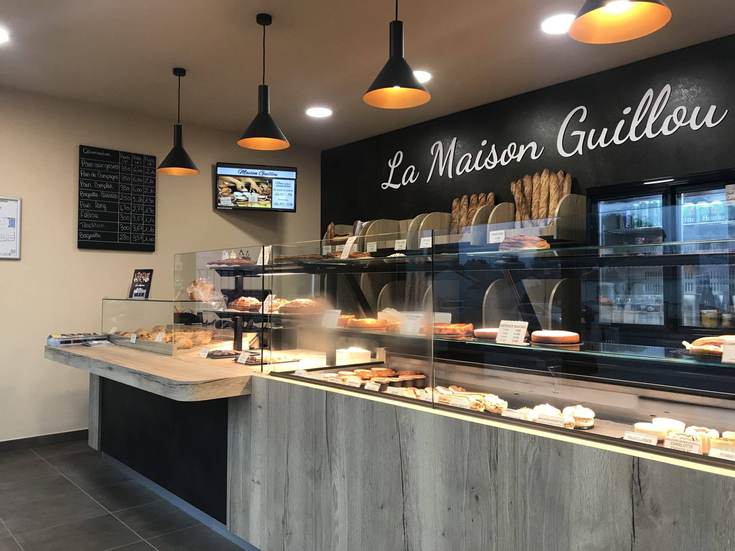 LA MAISON GUILLOU INTERIEUR